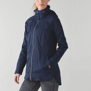 Lululemon fo drizzle rain jacket